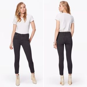 MOTHER Jeans High Waisted Looker Ankle in Black 26